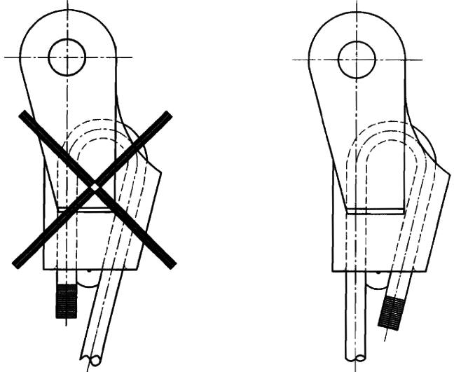 钢丝绳楔形接头连接使用